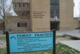 Family Practice - sign in front of building