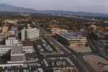 UNM Hospital and parking garage