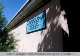 College of Education - Manzanita Center - building sign