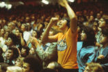 University Arena - The Pit - interior - fans cheering