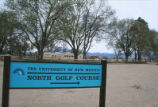 North Golf Course - sign
