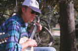 Duck Pond - concert - banjo player