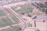 Dormitory - Coronado Hall - aerial view with baseball field