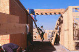 Dormitory - Redondo Village - construction - workers on ladder