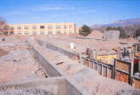 Dormitory - Redondo Village - construction - laying foundation