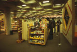 Bookstore - inner-campus location - interior - check-out line