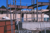 Hibben Center for Archeology Research - construction - steel girders