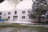 Bandelier Hall West - snowfall