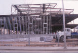 Hibben Center for Archeology Research - construction - framework