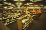 Bookstore - inner-campus location - interior - shelves filled with textbooks