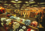 Bookstore - inner-campus location - interior - t-shirts