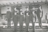 Air Force ROTC - cadets who received promotion at mid-term - 1952