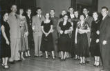 Joint Air Force and Navy dance 1950