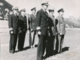 Air Force ROTC - review party - 1950-51 parade