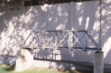 Engineering - Wagner Hall - exterior - model bridge