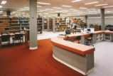 Library - Centennial - interior - circulation desk
