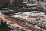 Library - Centennial - under construction - trenches
