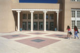 Library - Zimmerman - exterior - entry plaza