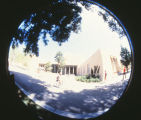Library - Zimmerman - exterior - fish eye lens shot
