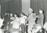 Student Publications - 1970 strike - Sheriff Wilson reads vacate order