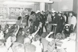 Student Publications - 1970 strike - SUB occupiers being arrested