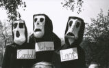 Student Publications - 1970 strike - giant puppets
