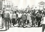 Student Publications - 1970 strike - march through downtown