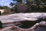 Faculty Housing - Lena Clauve's house - demolition - pool