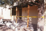 Faculty Housing - Lena Clauve's house - demolition - exterior