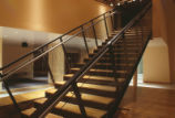 Fine Arts Center - interior - staircase to upper level