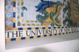 Fine Arts Center - interior - mosaic detail