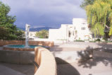 Landscaping - fountain - Education Complex - Mesa Vista Hall