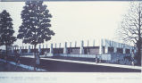 Forestry Sciences Laboratory - not built - architect's drawing