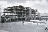 Humanities Building under construction