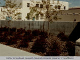 Engineering - Mechanical - landscaping - bushes near building