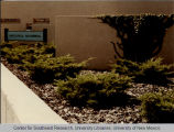 Engineering - Mechanical - landscaping - bushes on side of building