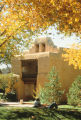 Alumni Memorial Chapel - exterior - fall foliage
