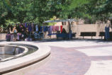 Cornell Mall - vendors and fountain