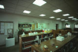Branch campus - Los Alamos - interior - library reference shelves
