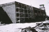 Mitchell Hall - exterior - under construction
