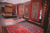 Anthropology - Maxwell Museum - interior - rugs