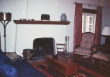 President's House - interior - living room