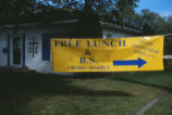 United Campus Ministries - free lunch banner