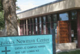 Aquinas Newman Center - open front door