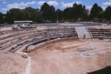 Dane Smith Hall - under construction - amphitheater