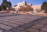 Student Union Building - during renovation - metal framework