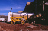Dane Smith Hall - under construction - forklift