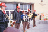 Student Union Building - construction groundbreaking - mariachis