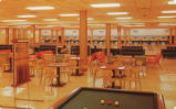 Student Union Building - bowling alley - postcard