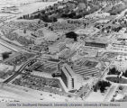 UNM Hospital - aerial view